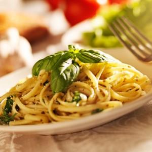 Knoblauch Spaghetti
